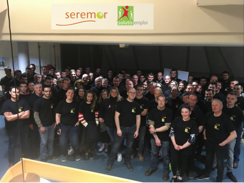Repas salariés Seremor-Solutis Emploi - Janvier 2019